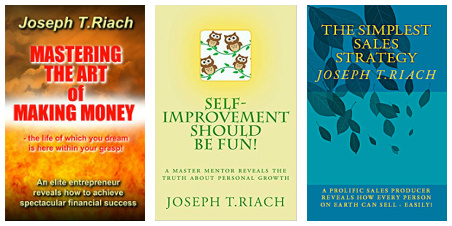 Joseph Tom Riach, Author, Amazon