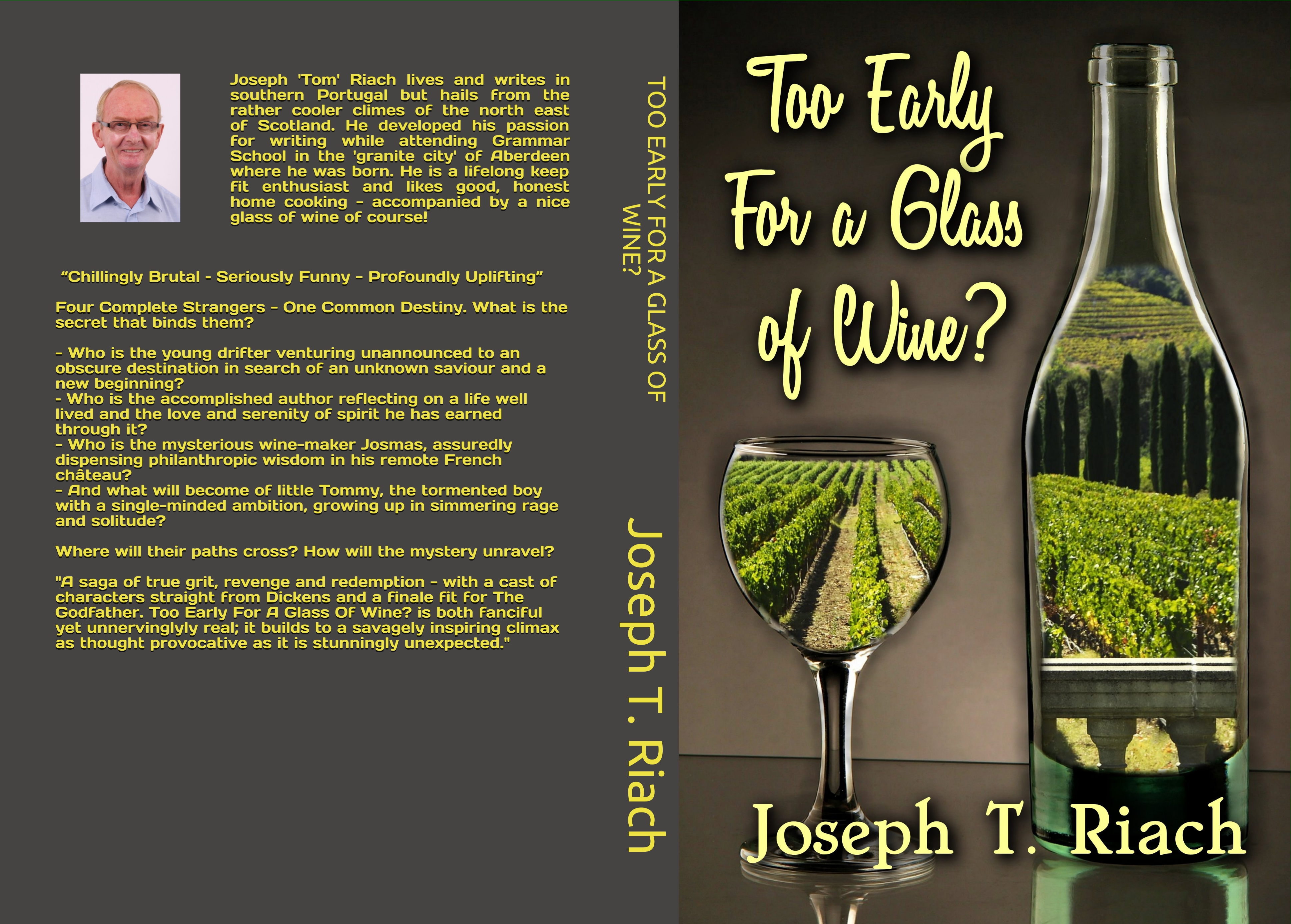 Joseph Tom Riach, Author, Too Early For A Glass Of Wine?, Amazon