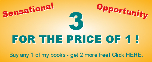 Special three books  for the price of one offer
